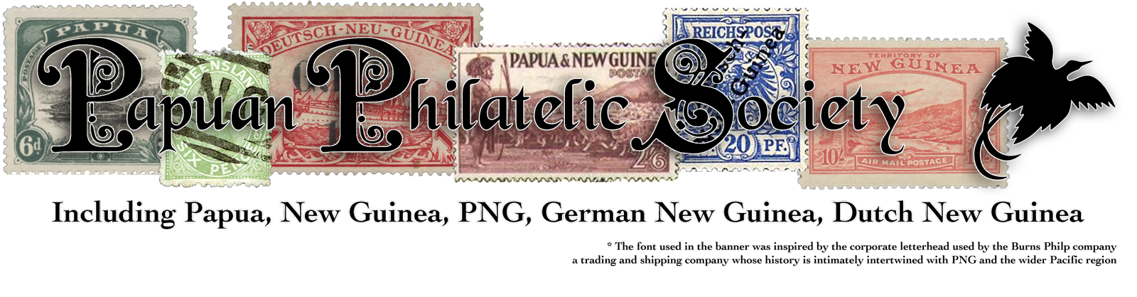 Papuan Philatelic Society Logo
